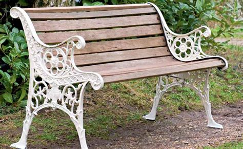 how to restore a garden bench period living