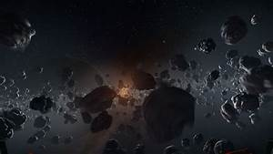 Asteroid Field - Pics about space