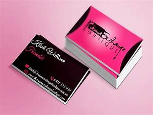 Fashion business cards business card tips for Fashion business cards ideas