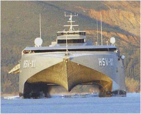 Catamaran Hull Design by Boat Hull Designs For Speed Franse