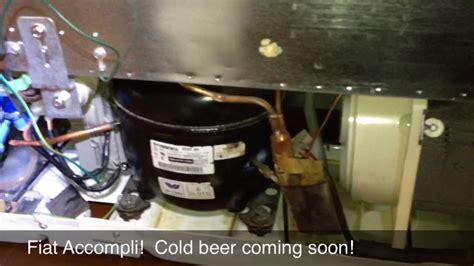 troubleshooting  repairing  warm ge refrigerator   inverter compressor youtube