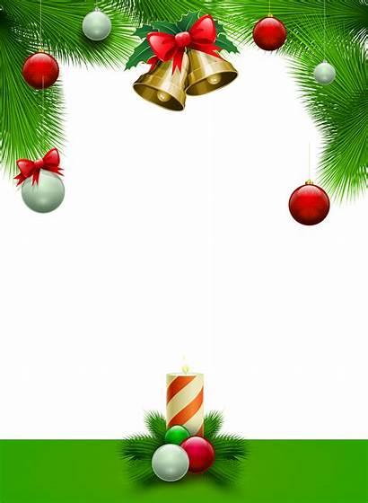Transparent Frame Frames Marcos Navidad Clipart Cadre