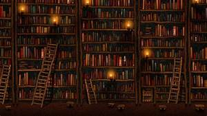 Books And Library Wallpaper