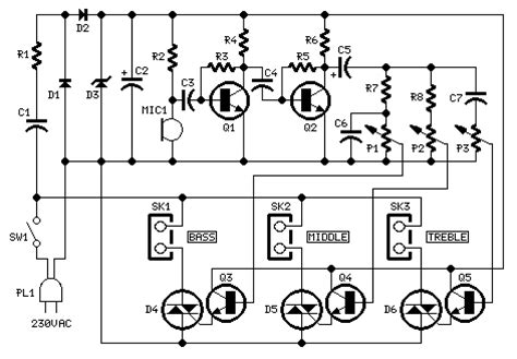 Electronic Circuit Schematic Simple