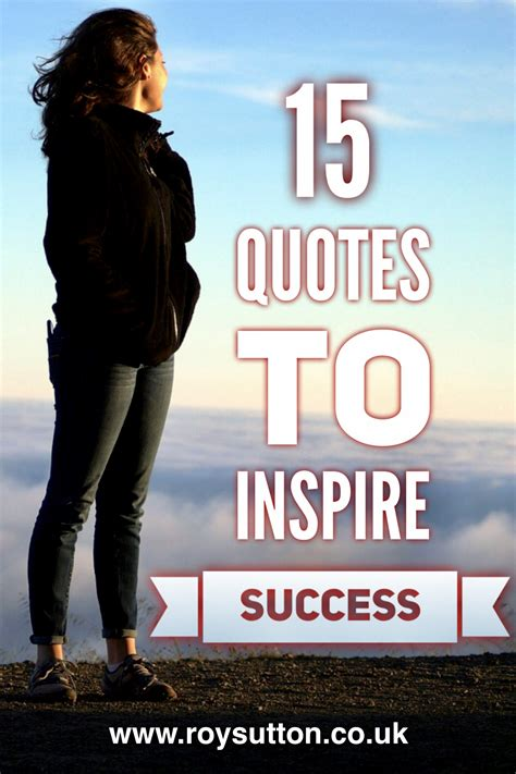 15 quotes to inspire success and encourage progress - Roy ...