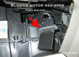 Cooling Fan Resistor Ford Escape