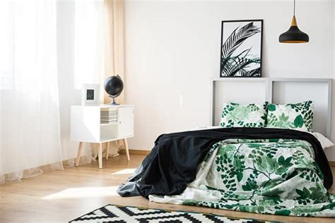 Bedroom Black White And Green by 50 Of The Most Spectacular Green Bedroom Ideas The Sleep