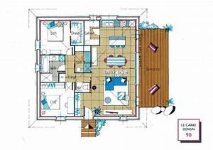 Idée Plan De Maison : idee plan maison en longueur idees de decoration ~ Premium-room.com Idées de Décoration