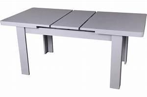 Table Extensible Grise : table manger extensible grise maeva design sur sofactory ~ Teatrodelosmanantiales.com Idées de Décoration