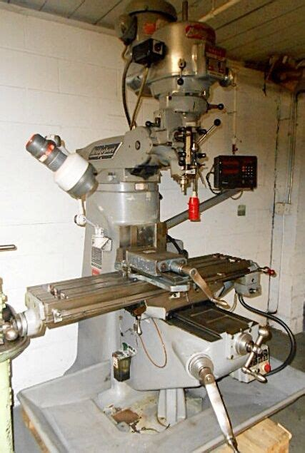 bridgeport series   hp ram type vertical turret milling