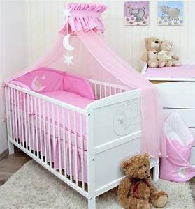 Baby Bettwäsche Set Mit Himmel : baby bettw sche moskitonetz himmel 2in1 bettset mit applikation 100x135cm ebay ~ Frokenaadalensverden.com Haus und Dekorationen