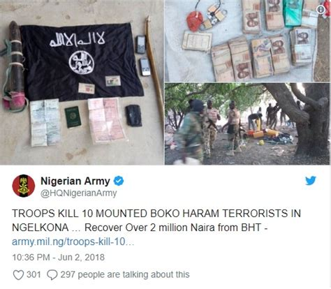 soldiers kill riding horse nairaland boko haram members politics