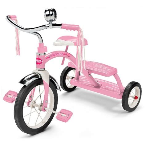 Radio Flyer Dual Deck Tricycle by Radio Flyer 174 Classic Dual Deck Tricycle Pink Target