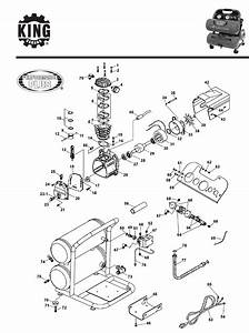 King Canada Air Compressor 8488 User Guide