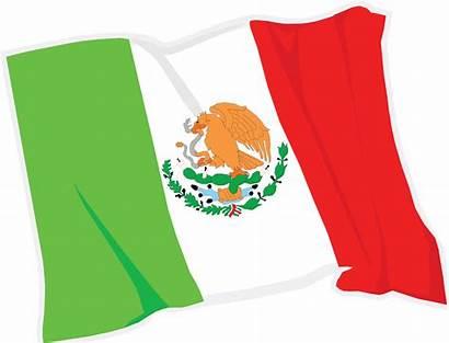 Mexico Flag Waving Mexican Svg Clipart Icon