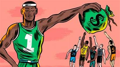 College Athletes Sports Paying Play Students Pay