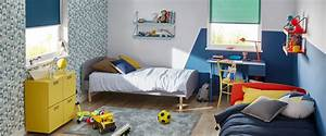 Lit Enfant Garcon : optimiser une chambre pour 2 enfants saint maclou ~ Farleysfitness.com Idées de Décoration