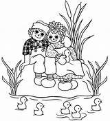Raggedy Ann Coloring Andy Doll Abc Drawing Sheets Annie Books Quilts Quilt Dolls Adult Stitch Cross Block Patterns sketch template