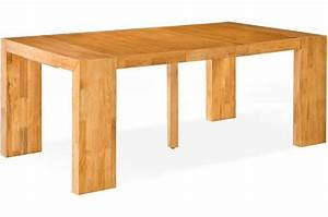 Table Extensible Bois Massif : table console extensible en bois massif wengue ~ Teatrodelosmanantiales.com Idées de Décoration