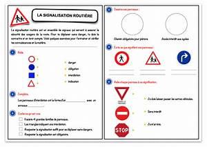 Code De La Route Signalisation : la signalisation routi re fiche exercices s curit routi re dangers domestiques ~ Maxctalentgroup.com Avis de Voitures