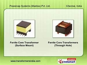 Ferrite Core Toroid Chokes By Powercap Transformer ...
