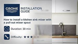 Grohe Eurodisc Kitchen Faucet Installation Manual