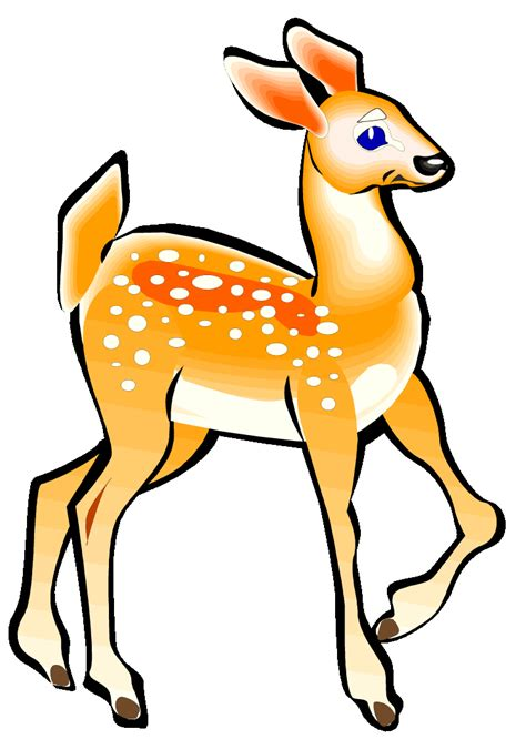 animated buck clipart