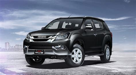 Starting at $43,900 and going to $57,400 for the latest year the model was manufactured. 2018 Isuzu MU-X - update, philippines, specs, price ...