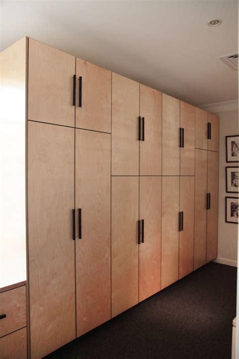 Wardrobe Cupboards by Birch Marine Ply Shelves Search Lockerroom