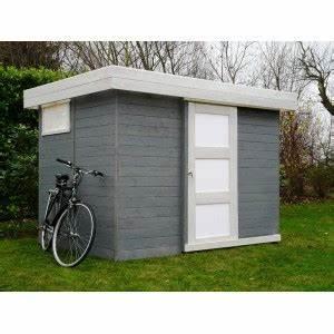 Cabanon En Bois : chalet de jardin en bois toit plat lund ~ Premium-room.com Idées de Décoration