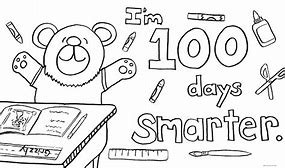 HD wallpapers 100th day of school coloring pages ...