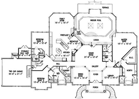 house plans with indoor pools 47 best images about floor plans on 3 car