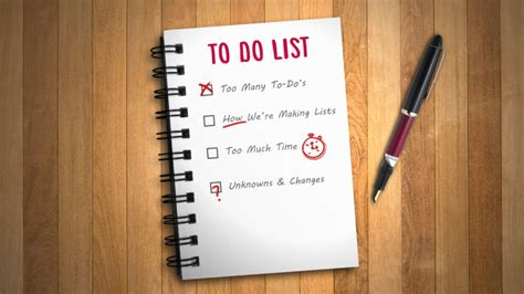 how to make a to do list in word master the art of the to do list by understanding how they
