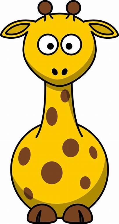 Cartoon Giraffe Clip Onlinelabels Svg