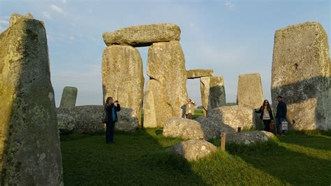 stonehenge access viewing at and sunset