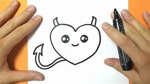 Coeur Dessin Facile Comment Dessiner C Ur Kawaii Tape Par