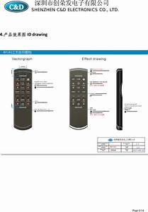 Rf339 Remote Control User Manual Dewertokin Gmbh
