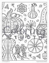 Gourds sketch template