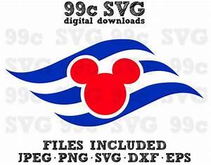 Disney Cruise Logo SVG DXF Png Vector Cut File Cricut ...