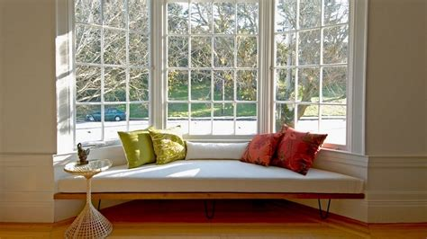 window with a seat bay window seat for comfortable seating area at home