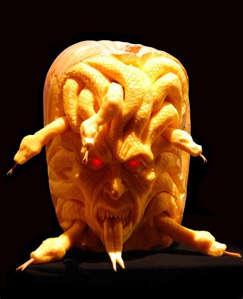 awesome carved pumpkin up north with mel awesome pumpkin carvings