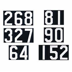 Hymn board slides numbers churchsuppliescom for Hymn board numbers and letters