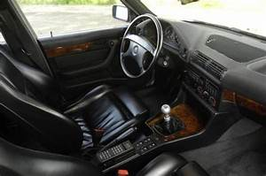 BMW E34 M5 Touring Interior Design Black Leather Fav