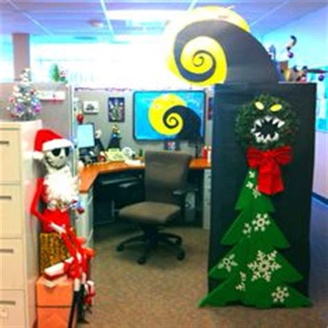 100 christmas cubicle decorating contest flyer