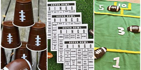 12 Super Bowl Party Game Ideas Football Party Activities