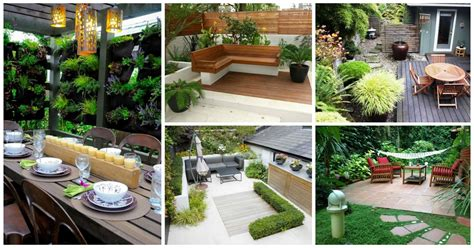 35 wonderful ideas how to organize a pretty small garden space