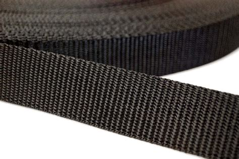 coloured polyester upholstery webbing bag strapping