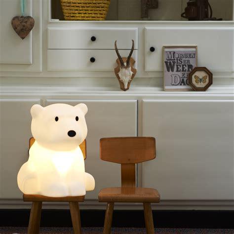 déco ours polaire pour la chambre de bébé