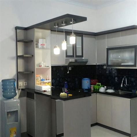 kitchen set sederhana terbaru dapur minimalis idaman