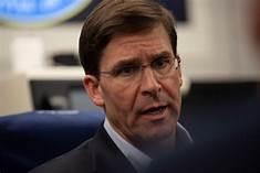 Mark Esper, Sec. of Defense